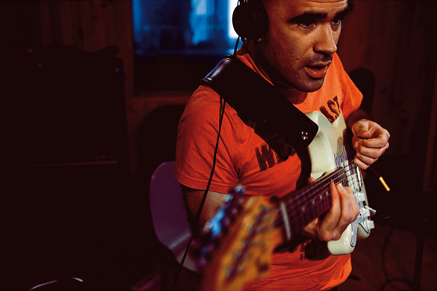 Matthieu Rosso, guitariste compositeur