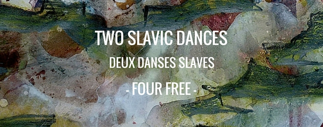 Two Slavic Dances by Four Free