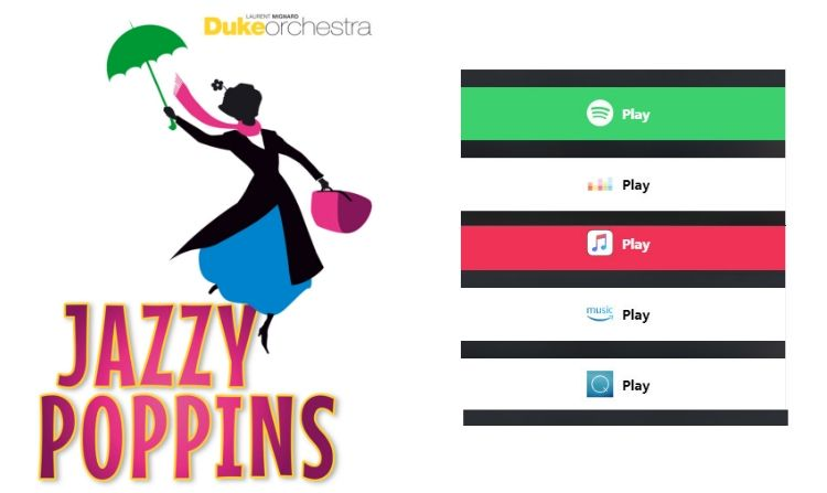 Jazzy Poppins on streaming