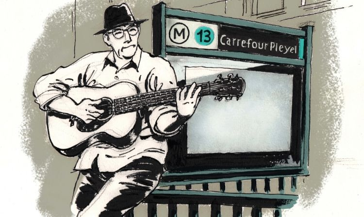 Ligne 13, a «cartoon-song»